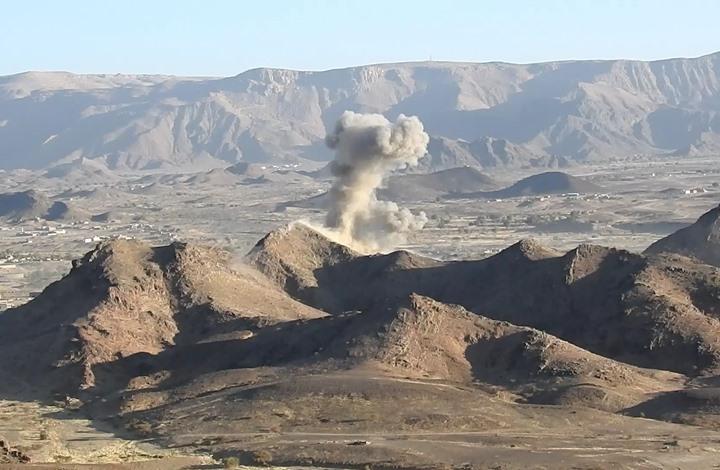 Photo of غارة لطيران التحالف استهدفت قوات حكومة هادي شرق صنعاء