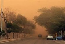 """Photo of الأرصاد: موجة غبار واسعة الانتشار ستتأثر بها """"9"""" محافظات"""