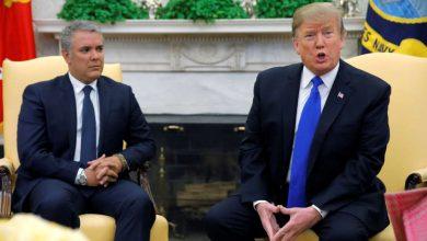 """Photo of الرئيسان الأمريكي والكولومبي يؤكدان دعمهما لـ""""غوايدو"""" لإنهاء الأزمة في فنزويلا"""