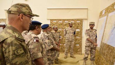 Photo of قطر تعلن وصول قوات برية وبحرية إلى السعودية