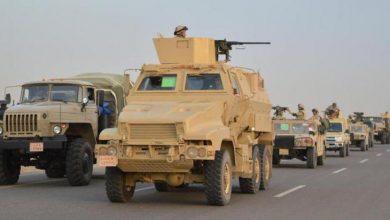 Photo of التعزيزات السعودية التي تعرضت للتقطع في لحج كانت في طريقها إلى البيضاء