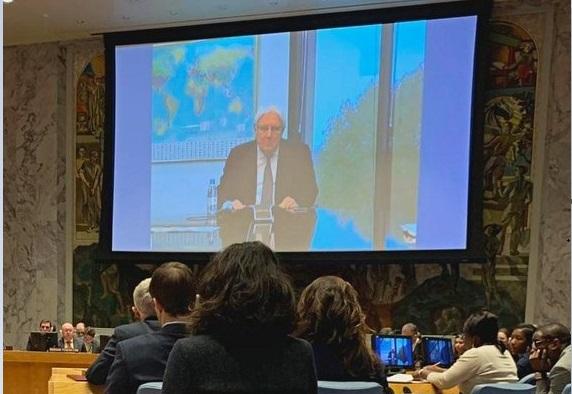 Photo of مارتن غريفيث يقدم إحاطة أمام مجلس الأمن حول نتائج جولتة الجديدة
