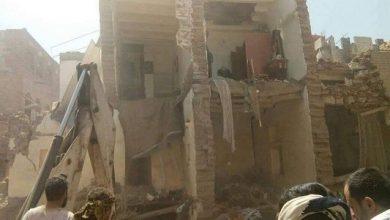 """Photo of صنعاء .. اسطوانة غاز تهدم منزل من """"3"""" طوابق وتقتل """"3"""" من أسرة واحدة"""