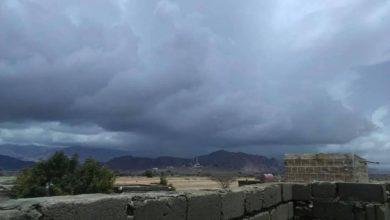 Photo of الأرصاد: أمطار على سواحل اربع محافظات وارخبيل سقطرى وأجزاء من المرتفعات
