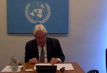 Photo of غريفيث لمجلس الأمن: مفاوضات الاعلان المشترك محبطة والسلام بات أكثر صعوبة