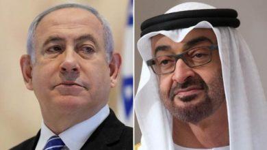 Photo of الإمارات وإسرائيل تتفقان على إقامة علاقات رسمية
