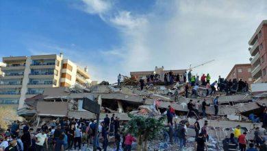 Photo of تركيا..  430 قتيل وجريح في حصيلة غير نهائية في زلزال أزمير