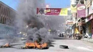 Photo of مسلحون يشلوا الحركة وسط مدينة تعز