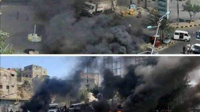 Photo of تعز .. حرائق واطلاق نار ومسلحون يتسيدون المدينة