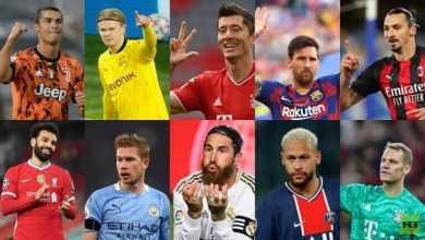 Photo of صلاح يتراجع في تصنيف أفضل 100 لاعب في العالم (القائمة كاملة)