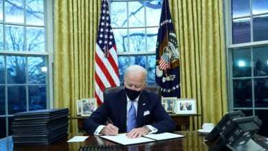 Photo of بايدن يلغي قرار ترامب بمنع دخول مواطني بعض البلدان منها اليمن الى الأراضي الأمريكية