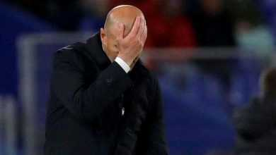 Photo of ريال مدريد يعلن إصابة المدرب زيدان بفيروس كورونا