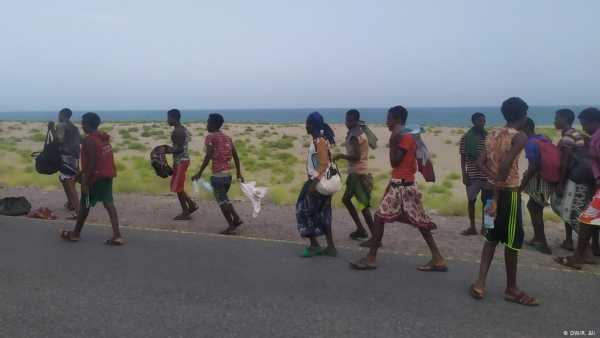 Photo of منظمة الهجرة: أكثر من 37 ألف مهاجر إفريقي دخلوا اليمن خلال العام المنصرم