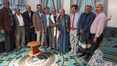 Photo of صنعاء .. مثقفون يزورون الأديب سلطان الصريمي والشيخ السامدي