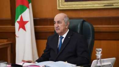 Photo of الرئيس الجزائري يوقع مرسوما بحل البرلمان