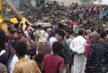 Photo of تعز .. مواطنون يطالبون باخراج محطات الغاز من الاحياء السكنية ومصدر يكشف حجم الأضرار التي تسبب بها انفجار محطة بالحوبان